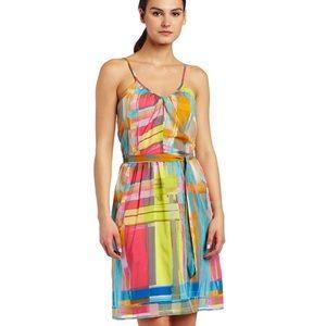 Trina Turk Playa Vista Silk Dress